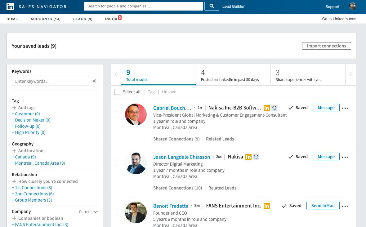 Comment réaliser sa prospection B2B avec Linkedin
