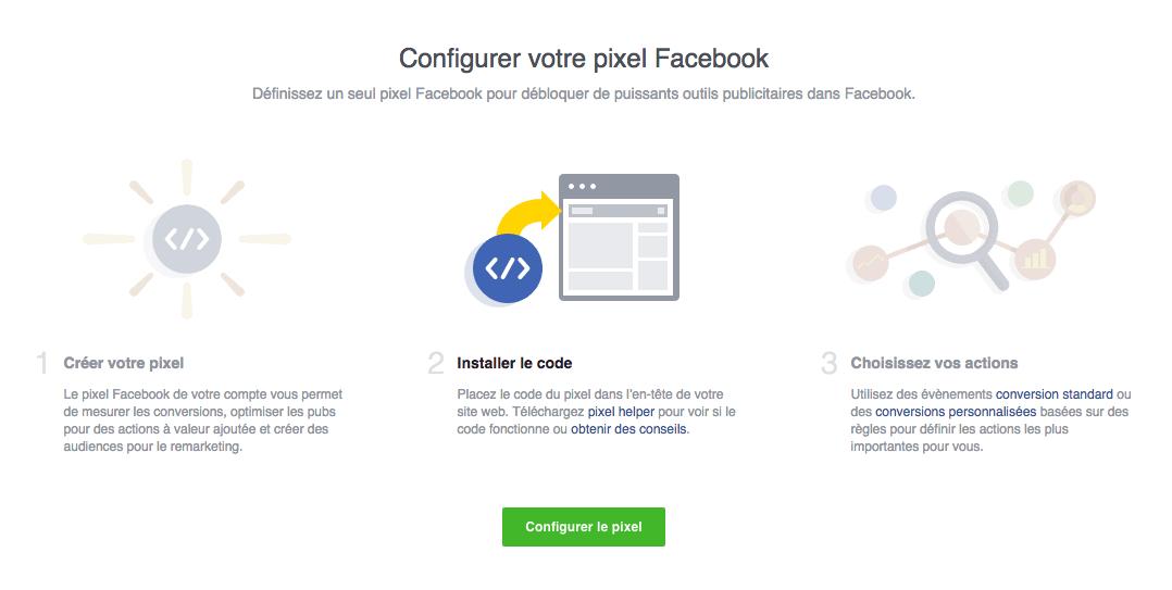 installer le pixel facebook